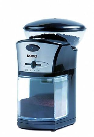 Domo DO442KM Molinillo 100W Negro, Plata - Molinillo de café (100 W, 138