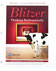 Thinking Mathematically with Integrated Review, Loose-Leaf Edition Plus MyLab Math with Pearson eText -- 24 Month Access Card Package