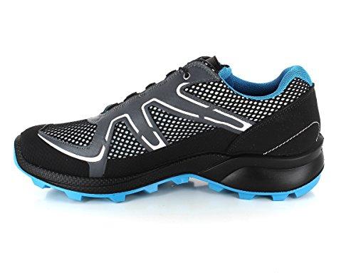 Grisport Speedhiker Chaussures De Trekking D'homme - Noir Kombi Fermeture Rapide, 42
