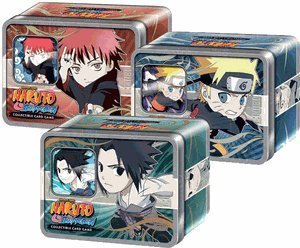 Naruto Ultimate Battle Chibi Tin Set of 3 - Sasuke, Naruto, Gaara [Toy]