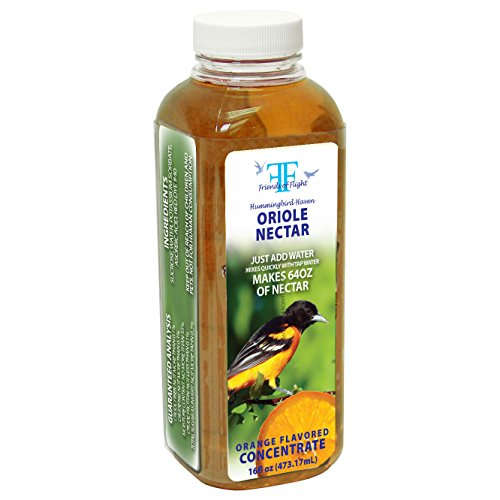 (Friends Of Flight Haven 028982 Liquid Oriole Nectar Concentrate, Orange,)