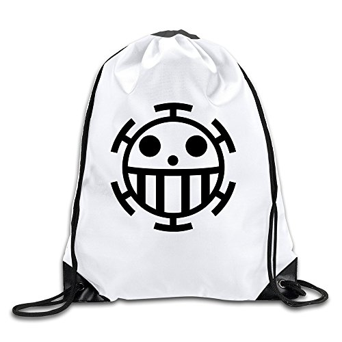 Bieshabi One Piece Trafalgar Law Drawstring Backpacks Bag Sack Bag