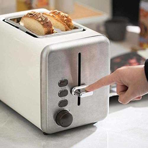 Broodrooster, Retro 7-Speed ​​Baking Multi-Function 750-watt high-Power ontdooien Verwarming Brood Machine Ontbijt Machine AQUILA1125