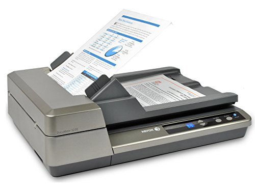 Xerox DocuMate 3220 Duplex Color Sheetfed and Flatbed Scanner