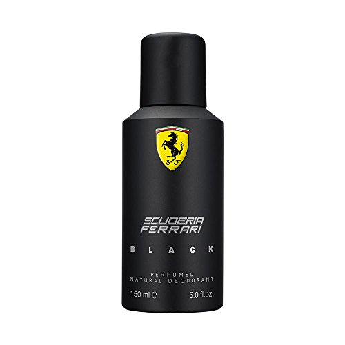 Ferrari Deodrant Spray, Black, 5 - Black In Ferrari