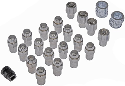 Dorman 711-348 Pack of 16 Wheel Nuts with 4 Lock Nuts and Ke