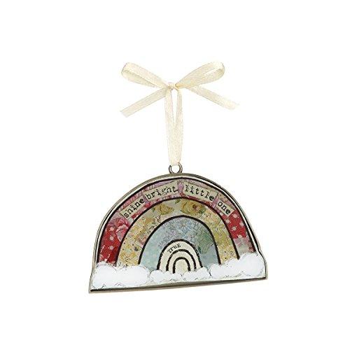 Demdaco Baby Keepsake Ornament, Rainbow