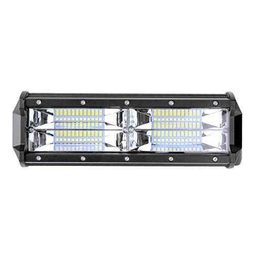 NANGE LED Work Light Bar,Shockproof DC 10-60V 144W 6500K Off-Road Vehicle Car Floodlight Lamp Bulbs,Working Light Auto Accessories Light Bulb,1Pcs by NANGE