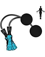 Cordless Jump Rope Weighted Ropeless Skipping Rope for Fitness Training Speed Rope with Memory Foam Handles for Exercises Men, Women and Kids Wireless Skipping Rope Indoor Outdoor