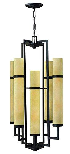 (Hinkley 4099RI Contemporary Modern Ten Light Foyer from Cordillera collection in Bronze/Darkfinish,)