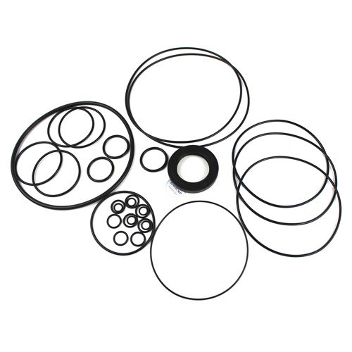 SK300-6E Main Pump Seal Kit - SINOCMP Service Seal Kits for Kobelco SK300-6E Excavator Parts, 3 Month Warranty: