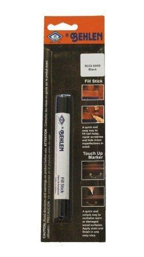 Black Furniture Repair Fill Stick - Rub on Wax Pencil