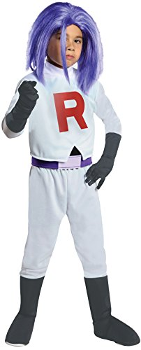 Pokemon Team Rocket James Costume, Large -