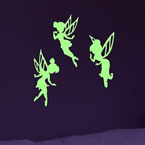 Stickers Phosphorescent Fées - 55 x 10 cm