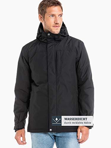 Schöffel Insulated Jacket Belfast2, wind- und wasserdichte Winterjacke, warme und atmungsaktive Outdoor Jacke mit höchstem Tragekomfort Herren, black, 48 2