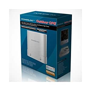 Premiertek PL-CPE-22N POWERLINK CPE 802.11b/g/n 2T2R 300Mbps Outdoor Wireless 1W 30dBm High Power