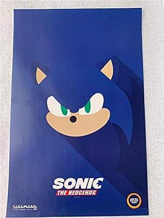 Sonic The Hedgehog 11 X17 Original Promo Movie Poster 2020