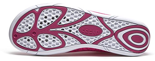 Tesla Uomo Donna & Bambino Slip-on Quick-dry Minimal Beach Aqua Shoes A101 / A102 Tf-a101-pnk
