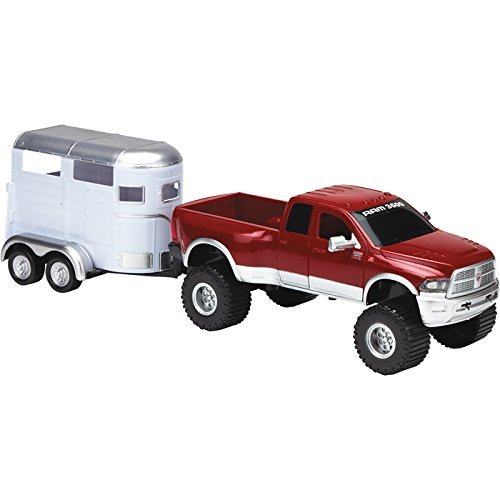 Tree House Kids Ram with Truck Horse Trailer Playset, Red, 23.5'' x 7''