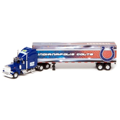 Indianapolis Colts Upper Deck Collectibles NFL Peterbilt Tractor-Trailer ()