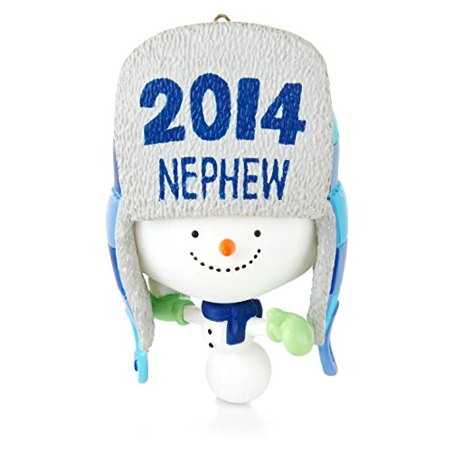 Hallmark QGO1393 One Awesome Nephew - 2014 Christmas Keepsake Ornament