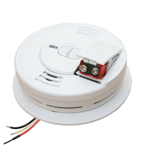 White Swan Pull - Kidde I12060 Hardwire with Front Load Battery Backup Smoke Alarm, 6-Pack by Kidde Safety