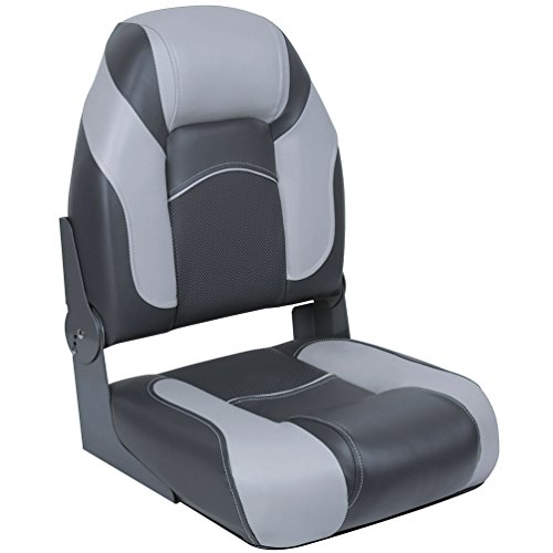 DeckMate Pro Angler Boat Seats (Charcoal & Gray)