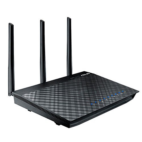 ASUS RT-AC66R 802.11ac Dual-Band Wireless-AC1750 Gigabit Router by Asus