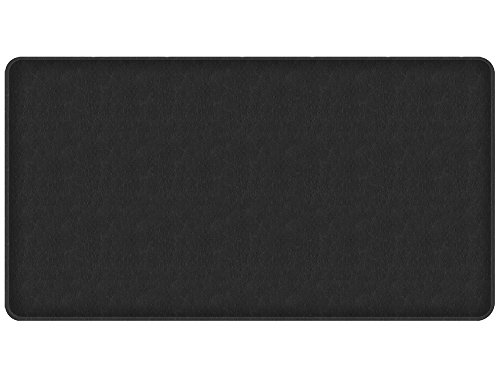"""GelPro Classic Anti-Fatigue Kitchen Comfort Chef Floor Mat, 20x36"""", Quill Black Stain Resistant Surface with 1/2"""" Gel Core for Health and Wellness by GelPro"""