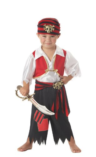 Ahoy Matey Toddler Costume - Toddler Medium