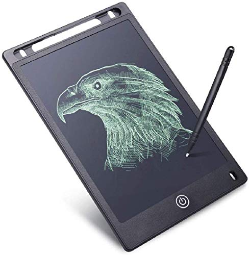 Fiddlys LCD Writing Tablet,Electronic Writing & Drawing Board Doodle Board,8.5″ Handwriting Paper Drawing Tablet Gift for Kids and Adults at Home,School and Office,(Black)