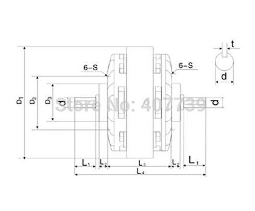 MXBAOHENG Partes de máquinas 50 N.m Dos cañas Electro magnético Polvo Embrague Freno re-Reeling máquina Control de la tensión de Freno: Amazon.es: Hogar
