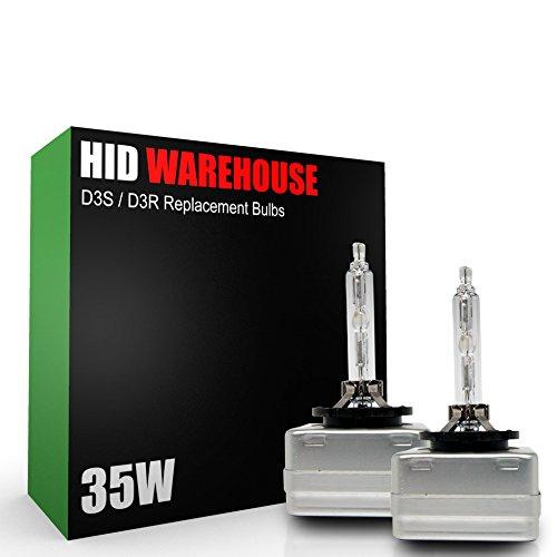 1 Pair XtremeVision HID Xenon Replacement Bulbs - 2 Year Warranty D1S // D1R // D1C 10000K Dark Blue