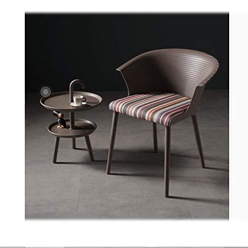 LRZS-Furniture Área de Descanso Silla de Comedor Europeo Silla de Libro para el hogar Cómoda Volver Vestirse Alquiler de...