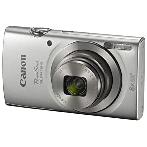 Canon PowerShot ELPH 180 Digital Camera w/ Image Stabilization and Smart AUTO Mode (Silver)