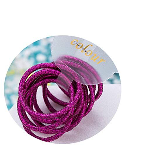 Peppers Scrunchie (10PCS/Lot New Girls Cute Colorful 3.0Cm Elastic Hair Bands Tie Gum Scrunchie Rubber Band Children Headband Kid)