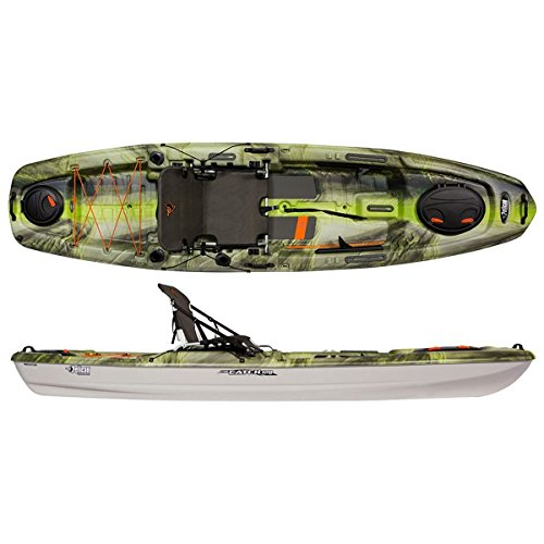 Cheap Pelican Sport The Catch 120NXT Kayak – Fade Venom/Light Grey