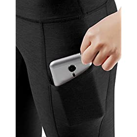 - 411it2qogIL - High Waist Out Pocket Yoga Leggings Workout Running