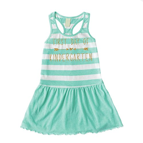 First Day of Kindergarten Dress, Back to School Clothes for Girls (Back To School Clothes For Girls)