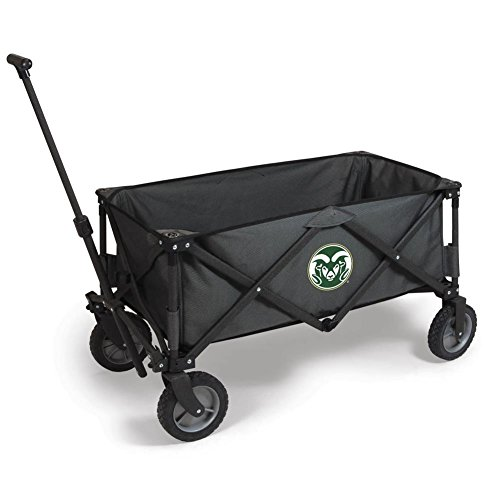 NCAA Colorado State Rams Adventure Digital Print Wagon, One Size, Dark Grey/Black by PICNIC TIME