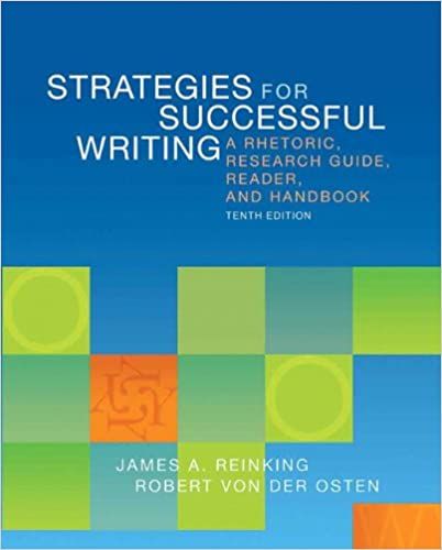 Amazon strategies for successful writing a rhetoric strategies for successful writing a rhetoric research guide reader and handbook 10th edition 10th edition fandeluxe Images