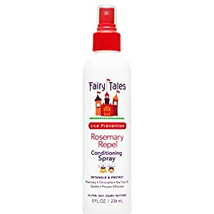 Fairy Tales Repel Conditioning Spray, Rosemary, 8 Fluid Ounce