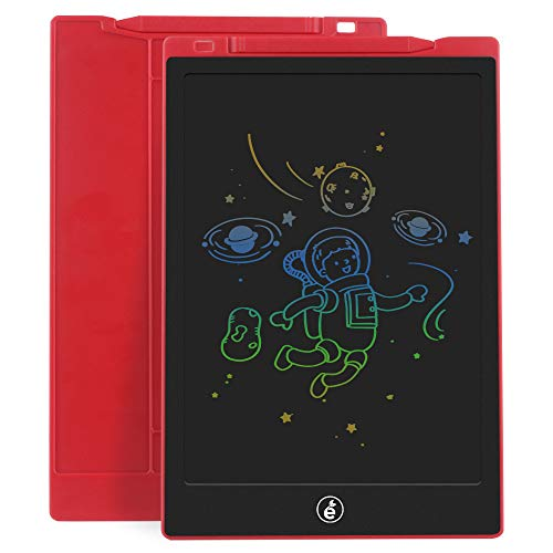 Sunany LCD Writing Tablet,11-Inch Colorful Kids Drawing Pad Doodle Board,Electronic Writing Board Drawing Board Reusable Doodle Pad Gift for Kids at Home and School(Red)
