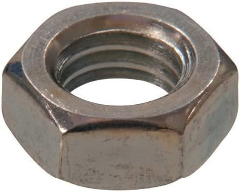 The Hillman Group 160045 1 1 1 7//16-20 Hex Jam Nut 50-Pack