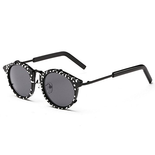 Hikote Fashion Retro Non-Polarized Round Aviator - Sunglasses Type Face A Round What Of Suit