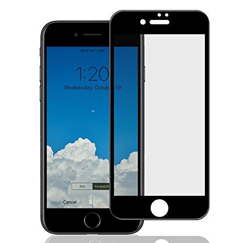 農学支出パワーiPhone8Plus / iPhone7Plus ガラスフィルム 【4D 全面保護 ブラックフレーム】 日本製ガラス 指紋防止 気泡防止 ラウンドエッジ 0.3mm 保護フィルム 【BELLEMOND】 iPhone8P/7P 4D 黒