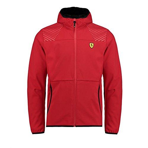 Scuderia Ferrari Formula 1 Men's 2018 Red Softshell Jacket ()
