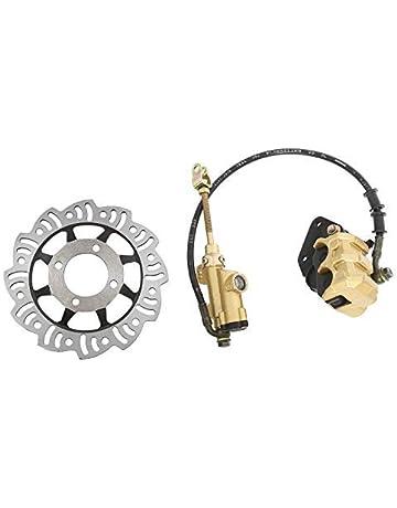 Rear Premium Ceramic Disc Brake Pad Set /& Hardware Clips For Toyota Matrix Tovasty 09 2009 10 2010 11 2011 12 2012 13 2013 1.8L Engine BP74152020103