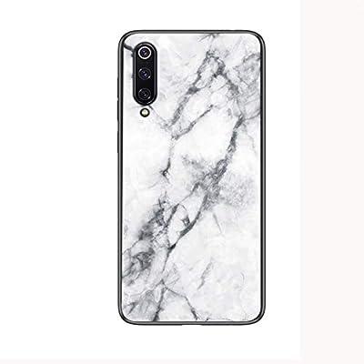 XLSJK Fundas para Teléfonos Móviles Estuche De Vidrio Templado para Xiaomi Mi 9T Se Mi 8 Lite A1 A2 MAX 3 Mix 3 6X Cove En Redmi K20 Note 7 5 6