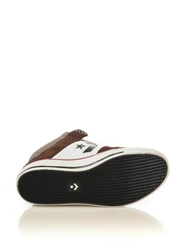 Converse Sneaker Rune Pro Mid Leather/Suede Bianco/Cioccolato/Nero EU 40